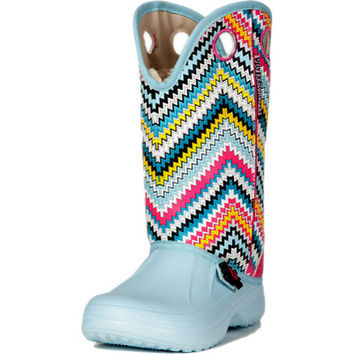Women's Ugly Kracomuker Powder Blue Multi Color Boots