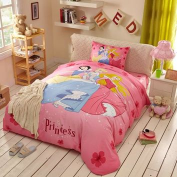 Disney Princess Bed Sheets Set Twin Queen Size | EBeddingSets