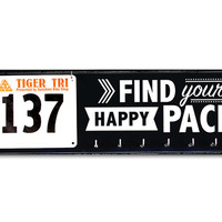 Running Medal Holder and Race Bib Hanger - Find Your Happy Pace
