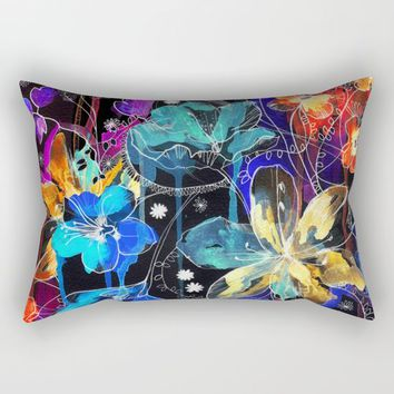 Lost in Botanica II Rectangular Pillow by Holly Sharpe