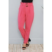 Bold Heart Pants (Berry)