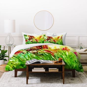 Rosie Brown Glorious Garden Duvet Cover