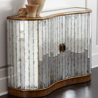 John-Richard Collection Veronika Mirrored Cabinet