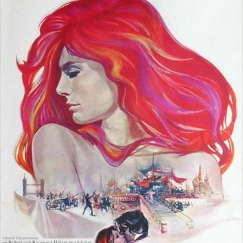 The Loves of Isadora (Swedish) 27x40 Movie Poster (1969)