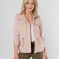 ASHLEY PIECED CANVAS JACKET