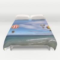 Hot Air Duvet Cover by anipani