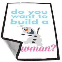 Disney Movies Frozen Movie Olaf Do you want to build a snowman d76e7c17-180a-4406-b9b1-1ed594222f5f for Kids Blanket, Fleece Blanket Cute and Awesome Blanket for your bedding, Blanket fleece *02*