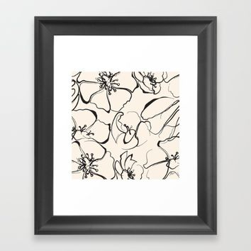 Adore Framed Art Print by Allison Reich