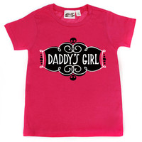 Daddy's Girl Hot Pink T-shirt