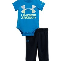 Under Armour Baby-Boys Newborn Topo Logo Set