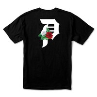 DIRTY P DOS FLORES TEE