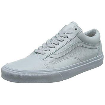 Vans Unisex Old Skool (Leather) Skate Shoe