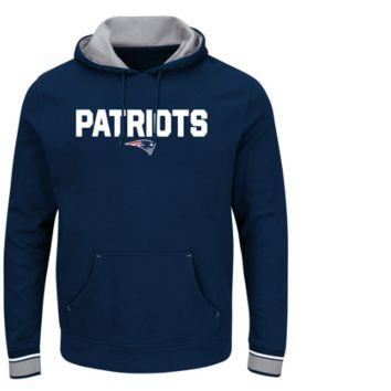 Men's New England Patriots Majestic Championship Pullover Hoodie