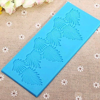 Silicone Leaves Lace Cake Mold Cake Decorating Sugar