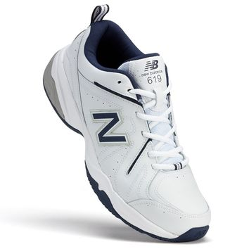 New Balance 619 Men's Cross-Trainers (White)