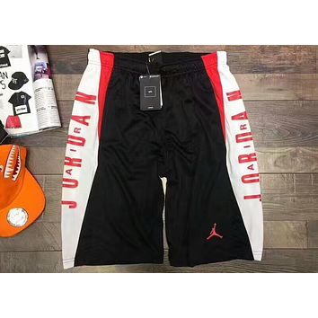 f22bfed6e87d NIKE AIR JORDAN 218 summer new men s basketball shorts F-AA-XDD black