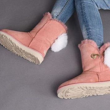 Fasshion Ugg Pink Limited Edition Classics Boots Irina Women Shoes 10 - Beauty Ticks