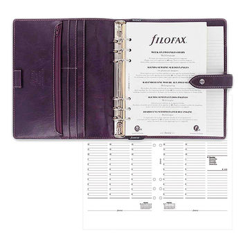 Filofax Purple Malden Leather A5 Organizer & 2015-2016 Calendar | zulily