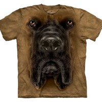 The Mountain Mastiff Face Adult T-Shirt