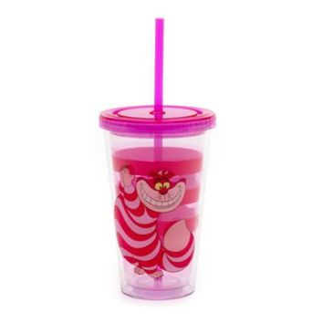 Cheshire Cat Tumbler With Straw | Disney Store