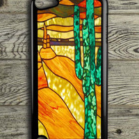 Cactus Stained Glass iPod 5 Touch Case