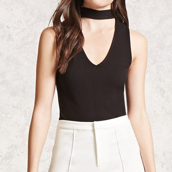 Choker Cutout Top