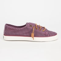 Sperry Seacoast Womens Shoes Burgundy  In Sizes