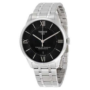 Tissot Chemin Des Tourelles Powermatic 80 Mens Watch T0994071105800
