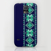 iPhone 6 ihone 6 Plus iPhone 5 iPhone 5s iPhone 5c iPhone 4 iPhone 4s Samsung Galaxy S5 Galaxy S4 Phone Case. Navy Mint Nordic Phone Case