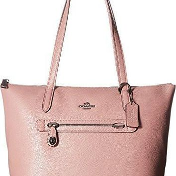 Coach Womens Pebbled Leather Taylor Tote