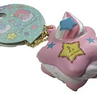 Authentic Sanrio Little Twin Stars Star Macaron Squishies Pink Star Macaroon