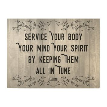 Service Quote by Kat Worth Wood Wall Art