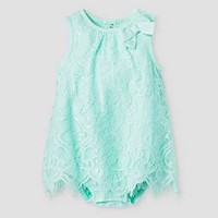 Baby Girls' Lace Romper Cat & Jack™ - Aqua