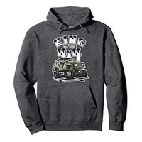 King of the 4x4 Off Roading Pullover Hoodie