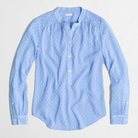 Factory dot-dash blouse : Blouses & Tees | J.Crew Factory