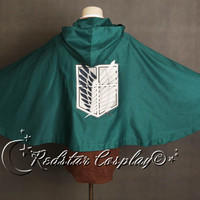 New Attack on Titan Shingeki no Kyojin Recon Corps Cloak