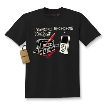 I am Your Father Funny Cassette Tape Kids T-shirt