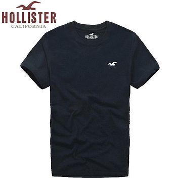 new hollister california mens shirt sleeve t shirt 100 cotton top-1
