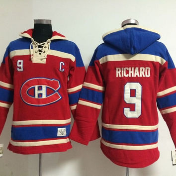 Montreal Canadiens - MAURICE ''ROCKET'' RICHARD #9 Vintage NHL Sweatshirt