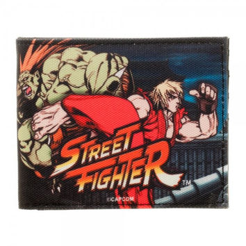 Street Fighter - Ken and Blanka Bi-fold Wallet