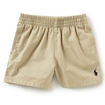 Ralph Lauren Childrenswear Baby Boys 3-24 Months Classic Twill Shorts | Dillards
