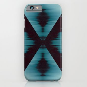 Aquamarine X iPhone & iPod Case by Ducky B
