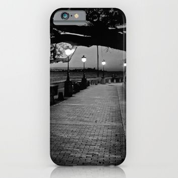 Old San Juan at Dusk iPhone & iPod Case by Derek Delacroix
