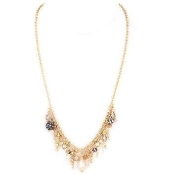 Crystal Fringe Necklace