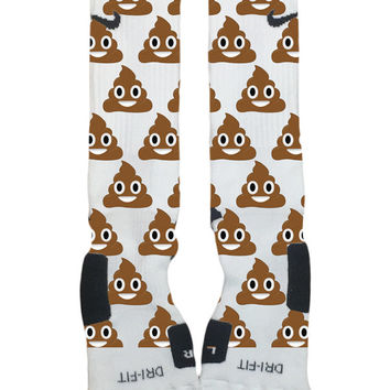 Poop Sock! Custom Nike Elite Socks-Socktimus Prime