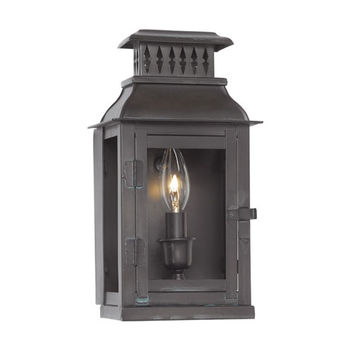 Elk Lighting 1298-OB Williams Towne Verde Patina One Light Outdoor Sconce