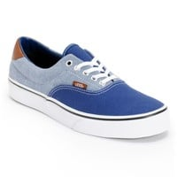 Vans Era 59 Blue Canvas & Chambray Shoe