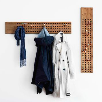 MONOQI | Vertical Scoreboard Coat Rack