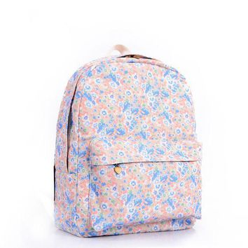 CREYUG3 Lovely Candy Sweets Print Cute Backpack = 4887848132