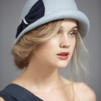 Soft Focus Cloche in SHOP Attire Hair Adornments at BHLDN